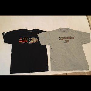 Men's Vintage Anaheim Mighty Ducks XL Shirts Lot